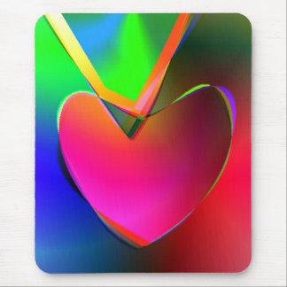Herz auf einer Schnur Mousepad