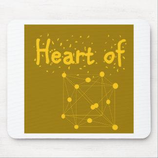 Herz aus Gold Mauspad