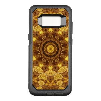 Herz aus Golds-Mandala OtterBox Commuter Samsung Galaxy S8 Hülle
