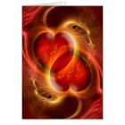 Herz auswendig karte