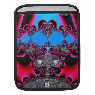 Herz-Ballett-Vorhang-Anruf-Fraktal Sleeve Für iPads