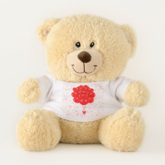 Herz-Ballon-Plüsch-Bär Teddybär
