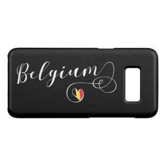 Herz-Belgien-Handy-Fall, belgische Flagge Case-Mate Samsung Galaxy S8 Hülle