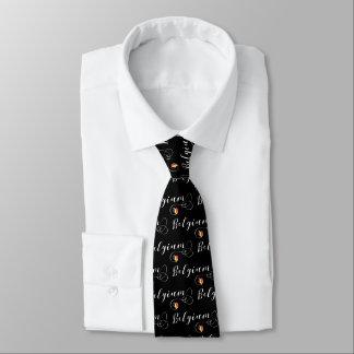 Herz-Belgien-Krawatte, katalanisch, Belgier Krawatte