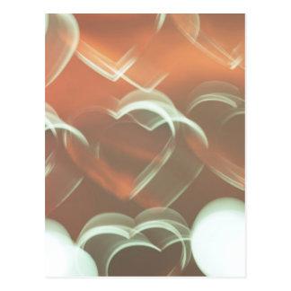 Herz-Blasen Postkarte
