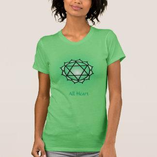 Herz Chakra amerikanische Kleidergeldstrafe Jersey T-Shirt