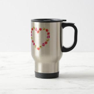 Herz der Blumen Teehaferl