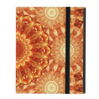Herz der Feuer-Mandala iPad Etui