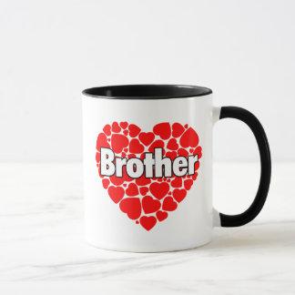 Herz der Herzen - Bruder-Tasse Tasse