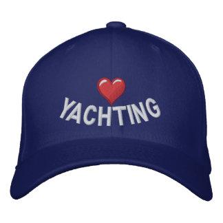Herz der Liebe I yachting Bestickte Kappe