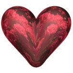 Herz der Rosen Fotoskulptur Ornament