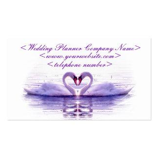 Herz der Schwäne, die Planer Wedding sind Visitenkarten