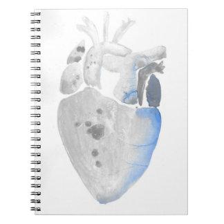 Herz des Steins Notizblock