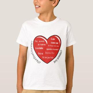 Herz dia de Las Madres T-Shirt