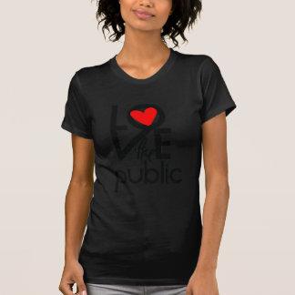 Herz die Öffentlichkeit Hemd