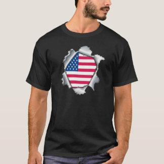 Herz eines amerikanischen Patrioten T-Shirt