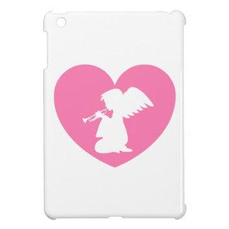 Herz-Engel mit Trompete iPad Mini Hülle