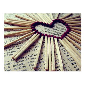 Herz-ewige Liebe Postkarte