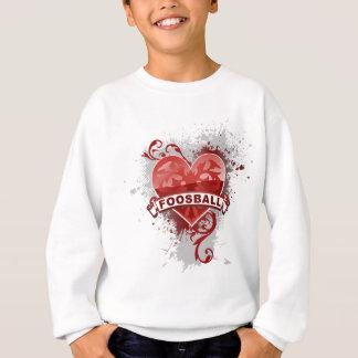 Herz Foosball Sweatshirt