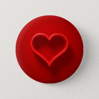 Herz-Form mit Licht und Schatten Button