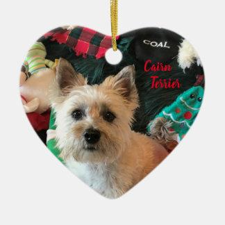 Herz-Förmige Verzierung Steinhaufen-Terriers Keramik Ornament