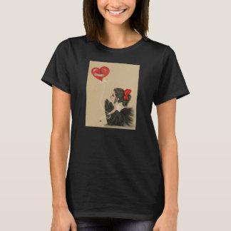 Herz gebrochen wenigen traurigen Cartoonmädchen T T-Shirt