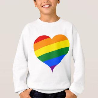 Herz gefärbt sweatshirt
