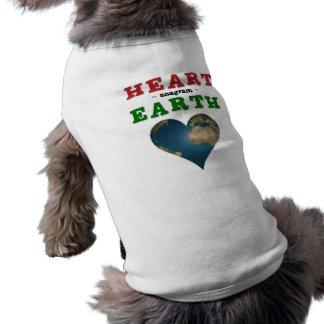 Herz-geformte Erde Shirt