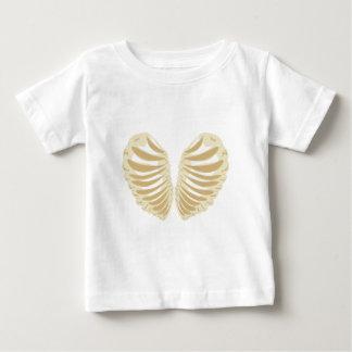 Herz-geformter Brustkorb Baby T-shirt