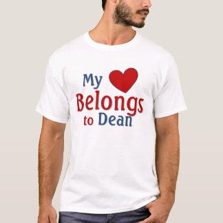 Herz gehört Dekan T-Shirt
