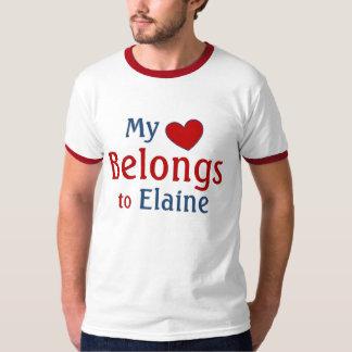 Herz gehört Elaine Hemden