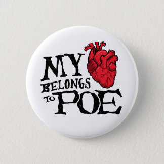Herz gehört Poe-Knopf Runder Button 5,1 Cm