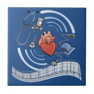 Herz-Gesundheit Fliese