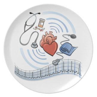 Herz-Gesundheit Teller
