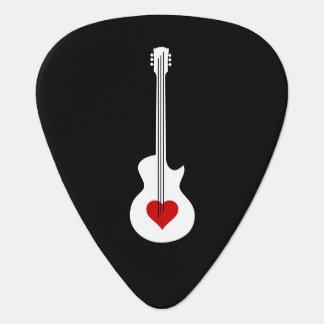 Herz-Gitarren-Plektrum Plektrum