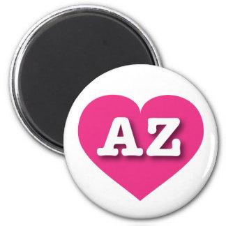 Herz heißen Rosas Arizonas - große Liebe Runder Magnet 5,1 Cm
