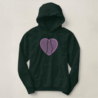 Herz-Hintergrund Hoodie