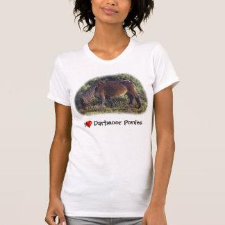 Herz I Dartmoor Ponys T-Shirt