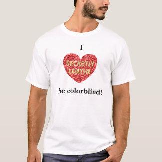 Herz I das farbenblinde T-Shirt