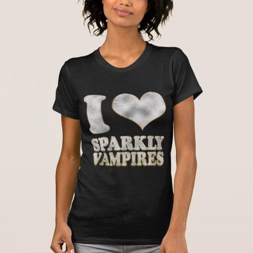 Herz I funkelnd Vampires Shirt