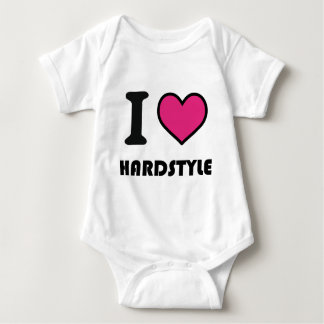 Herz I hardstyle Baby Strampler