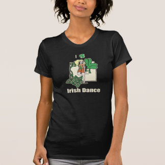 Herz I Iren-Tanz-Klee T-Shirt