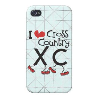 Herz I (Liebe) Querland, das XC laufen lässt Hülle Fürs iPhone 4