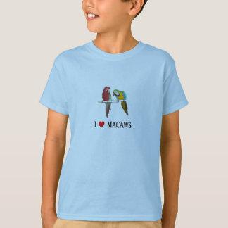 Herz I Macaws auch T-Shirt