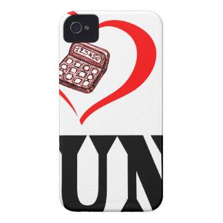 Herz I mein BUCHHALTER Case-Mate iPhone 4 Hülle