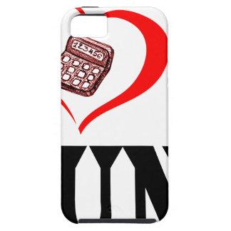 Herz I mein BUCHHALTER Hülle Fürs iPhone 5