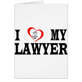 Herz I mein Rechtsanwalt Karte