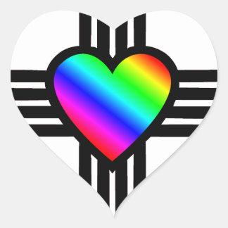 Herz I New Mexiko Herz-Aufkleber