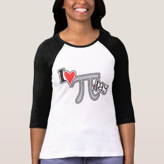 Herz I PU-Tagest-shirt - cooles PU-Kleidergeschenk