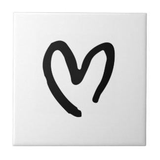 Herz I Sie Kleine Quadratische Fliese